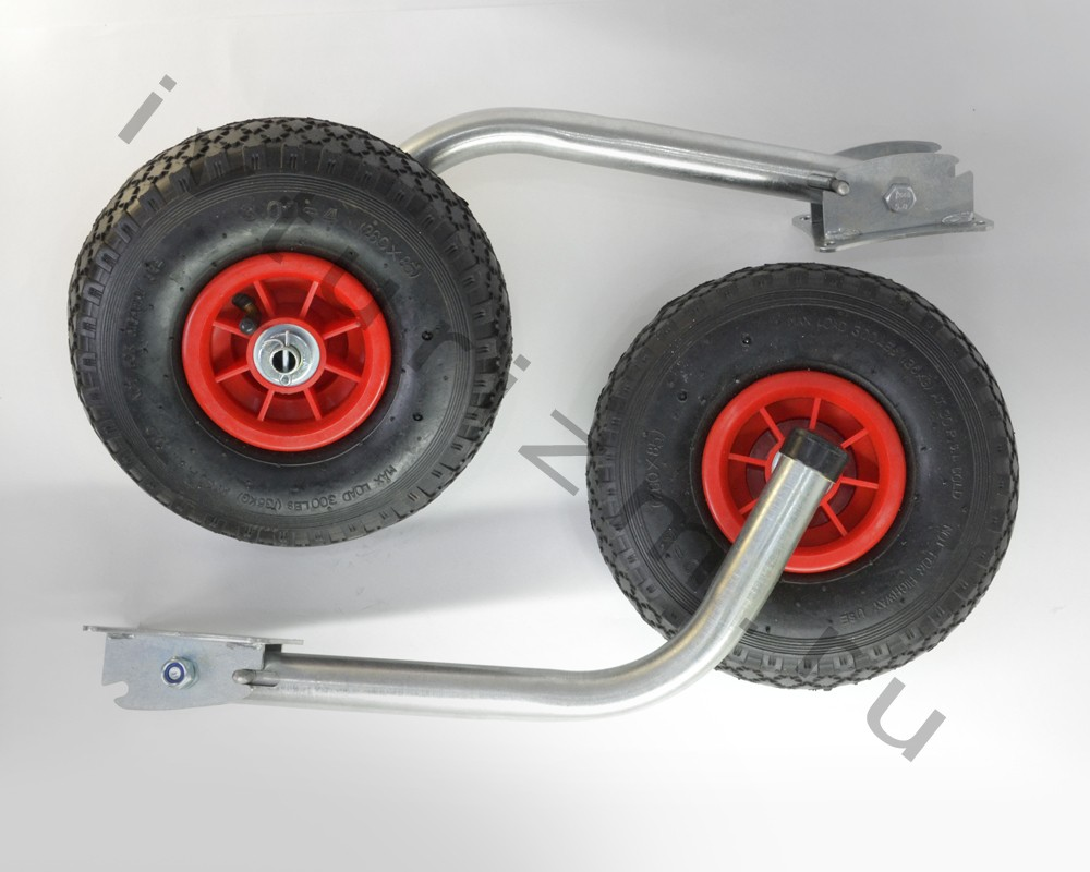 Колёса транцевые перекидные полуавтомат (HDX  и Nissanmaran) (нерж.)