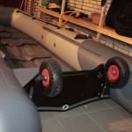 Лодка ПВХ с транцевыми колесами 6