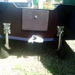 Лодка ПВХ с транцевыми колесами